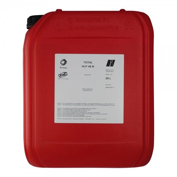 Total HLP 46 N Hydrauliköl ISO VG 46 - 20 Liter