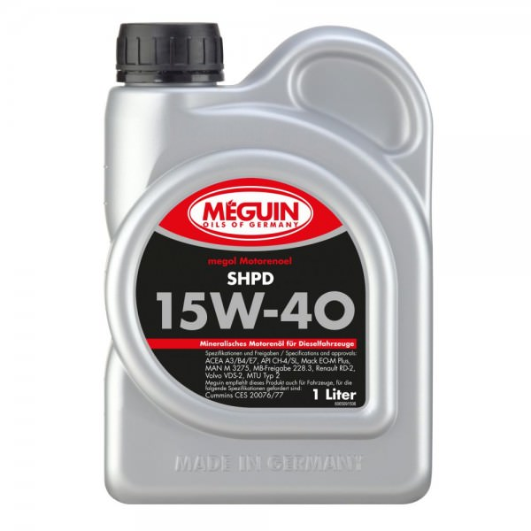 Meguin megol Motorenoel SHPD 15W-40