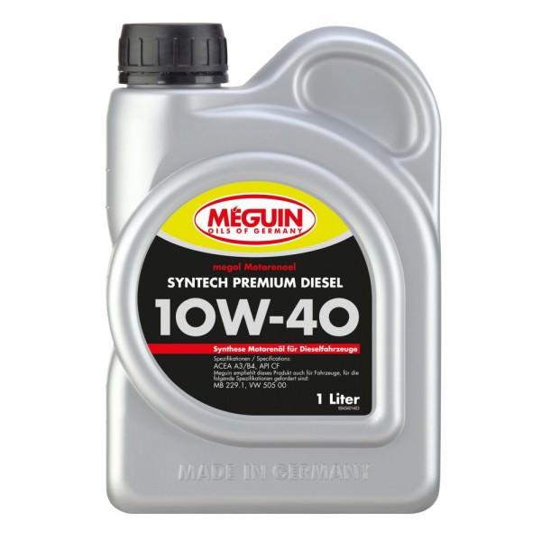 Meguin megol Motorenoel Syntech Premium Diesel 10W-40