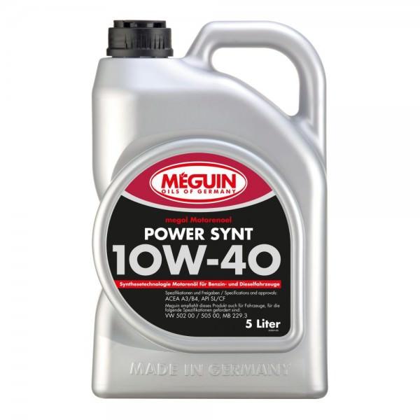 Meguin megol Motorenoel Power Synt 10W-40 - 5 Liter