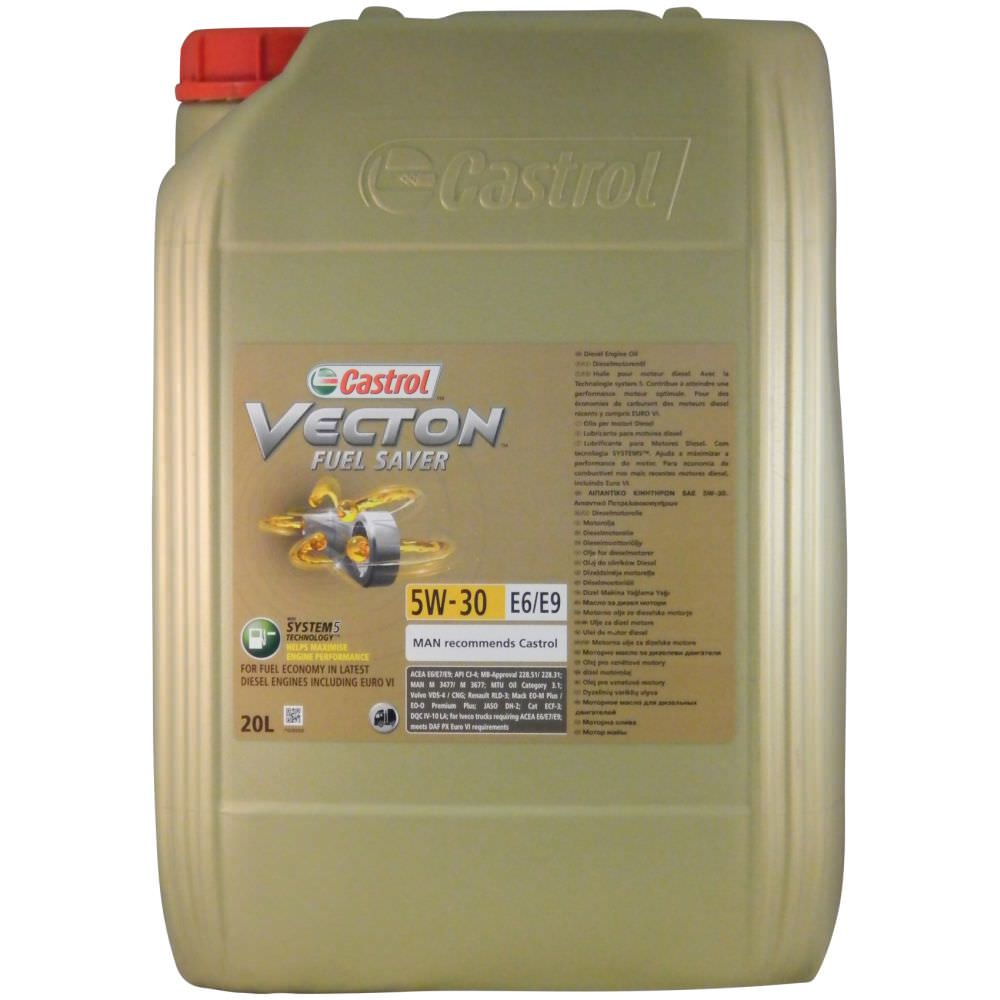 castrol vecton fuel saver 5w 30 e6 e9 motor l lkw online l kaufen. Black Bedroom Furniture Sets. Home Design Ideas
