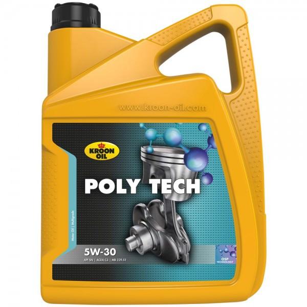 Kroon Oil Poly Tech 5W-30 - 5 Liter