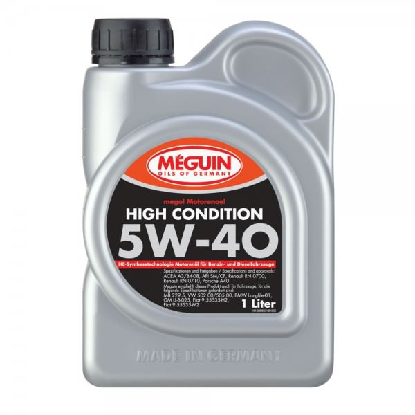 Meguin megol Motorenoel High Condition 5W-40