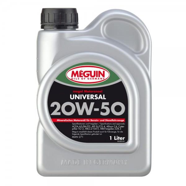 Meguin megol Motorenoel Universal 20W-50