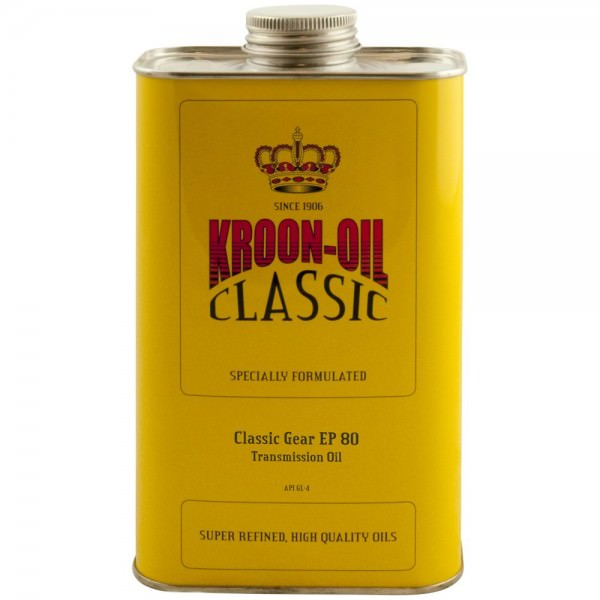 Kroon Oil Classic Gear EP 80 - 1 Liter