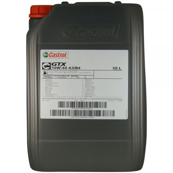 Castrol GTX 10W-40 A4/B4