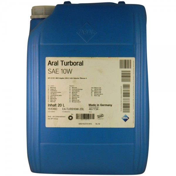 Aral Turboral SAE 10W