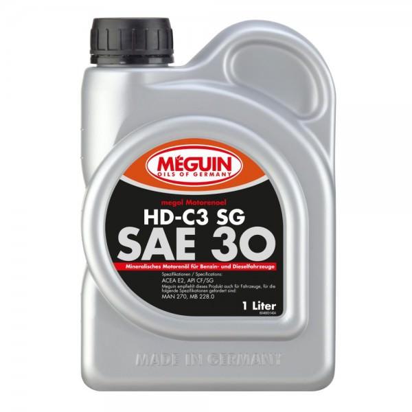 Meguin megol Motorenoel HD-C3 SG (single-grade) SAE 30
