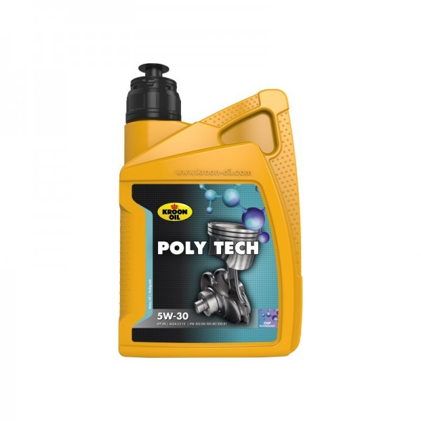 Kroon Oil Poly Tech 5W-30 - 1 Liter