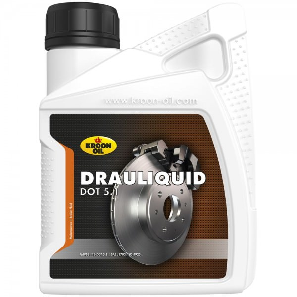 Kroon Oil Drauliquid DOT 5.1 - 0,5 Liter