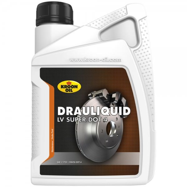 Kroon Oil Drauliquid-LV Super DOT 4