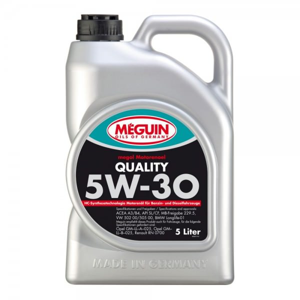 Meguin megol Motorenoel Quality 5W-30
