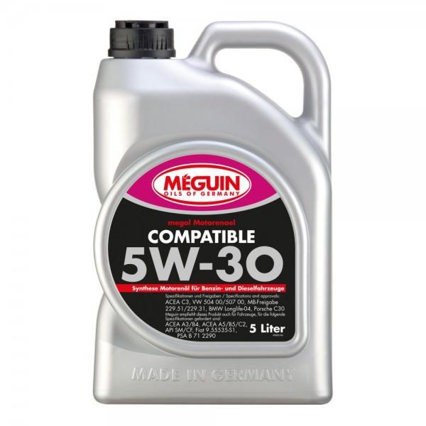 Meguin megol Motorenoel Compatible 5W-30 - 5 Liter