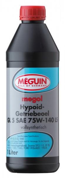 Meguin megol Hypoid-Getriebeoel GL5 SAE 75W-140LS