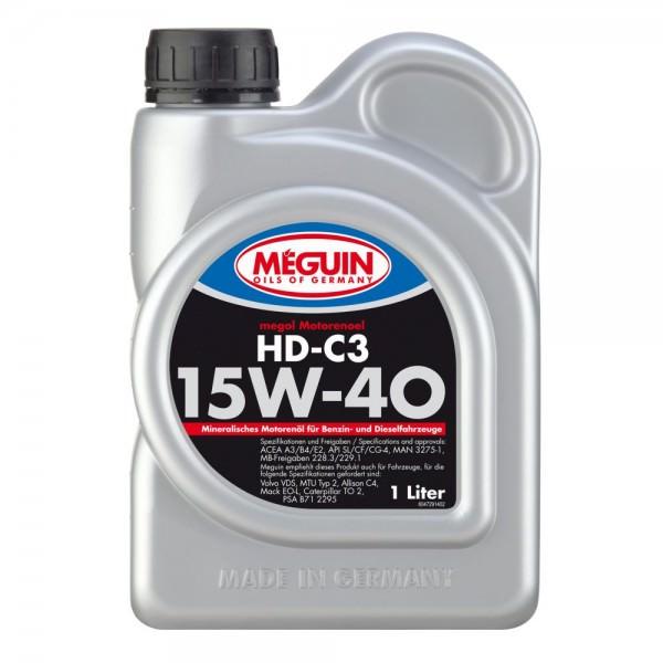 Meguin megol Motorenoel HD-C3 SAE 15W-40