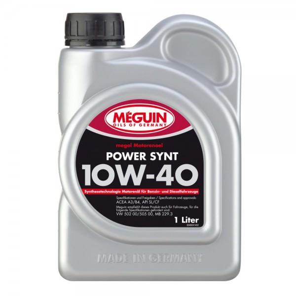 Meguin megol Motorenoel Power Synt 10W-40