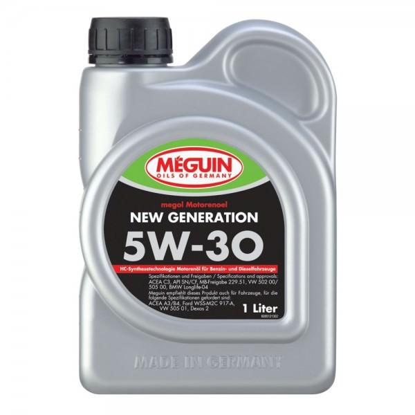 Meguin megol Motorenoel New Generation 5W-30