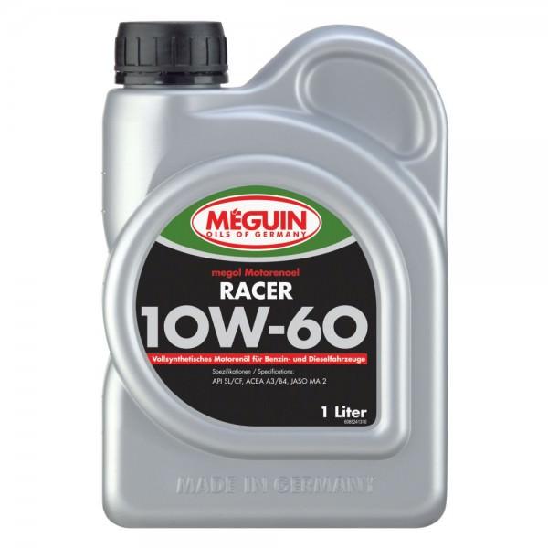 Meguin megol Motorenoel RACER 10W-60 VS