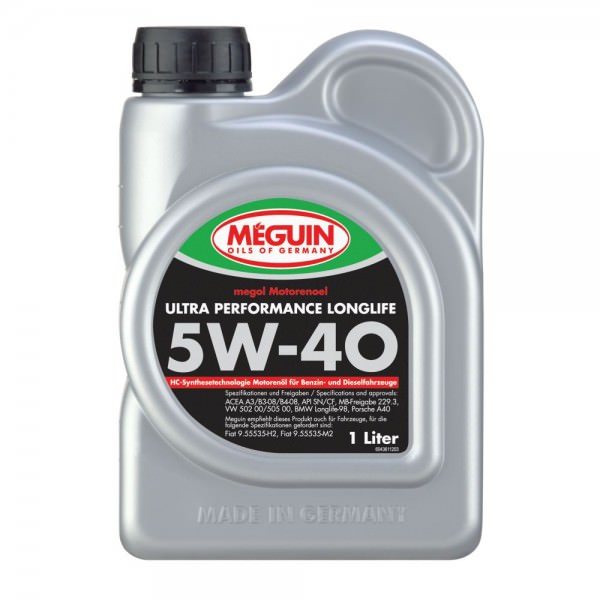 Meguin megol Motorenoel Ultra Performance Longlife 5W-40