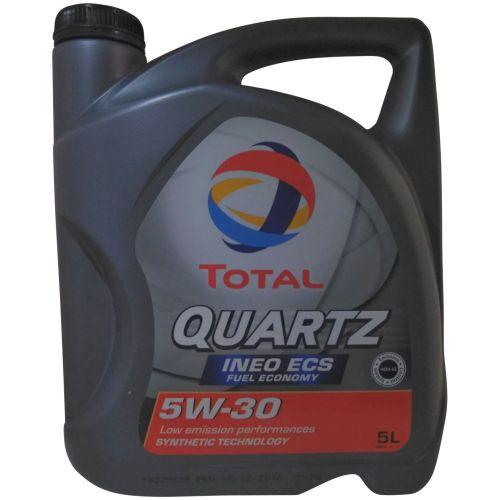 5 liter total quartz ineo ecs 5w 30 1x5l motor l peugeot citroen b71 2290. Black Bedroom Furniture Sets. Home Design Ideas